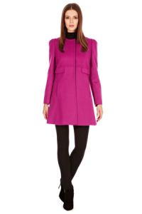 coast pink coat