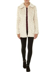dotty P fake fur coat