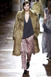 dries van noten fur aw2013