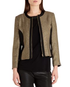 ted baer metallic jacket