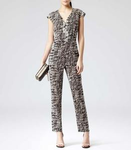 reiss jumpsuit 2014 monochrome