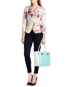 ted  baker floral jacket