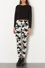 topshop leggings 2014 monochrome