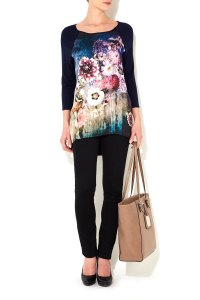 wallis floral top