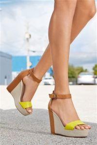next neon sandals