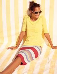 boden pencil skirt for top heavy
