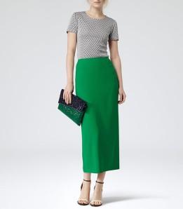 reiss pencil skirt for tall women
