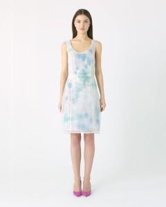 see through Jigsaw dress