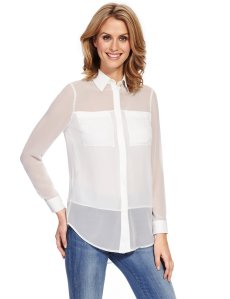 see through marks and spencers blouse