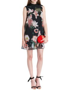 AW14 floral repeat fashion Ted B