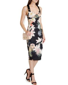 ss14 to aw14 floral dress ted